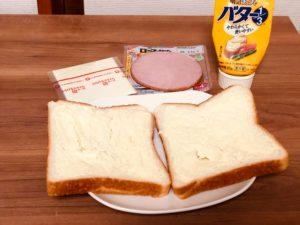食パンバター